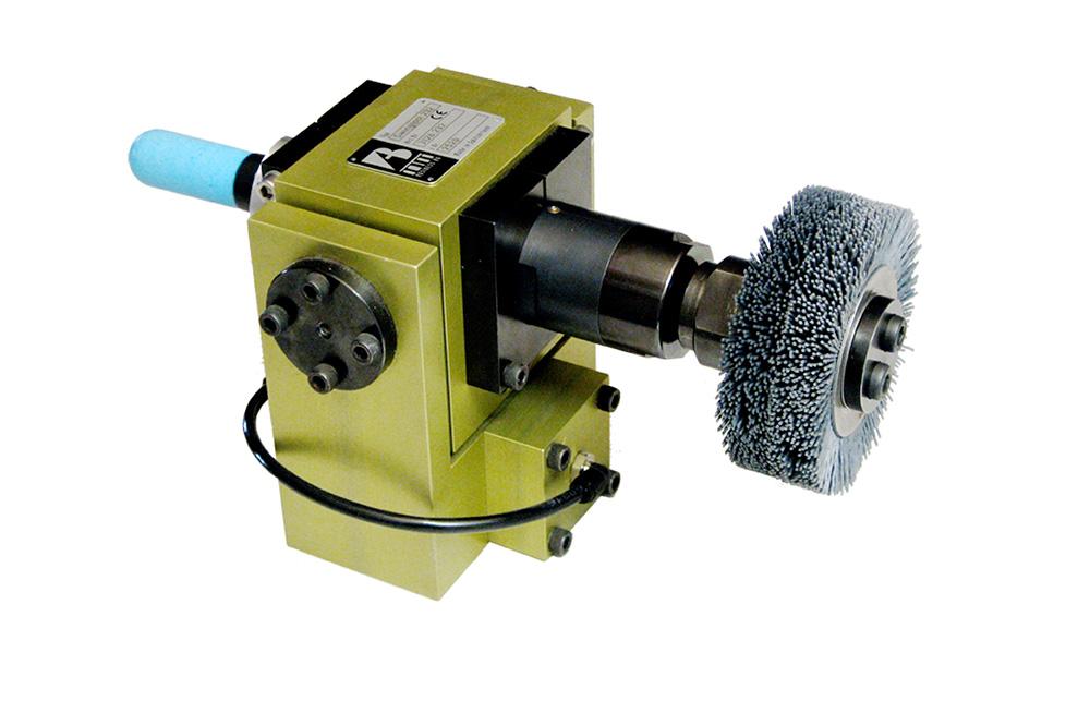 Utensile di spazzolatura e molatura compensato Complianced brushing and grinding tool